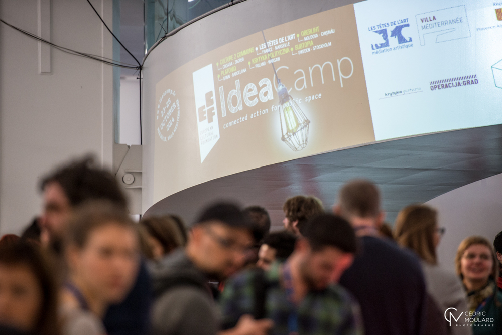 Idea Camp 2014. Photo ©Cedric Moulard