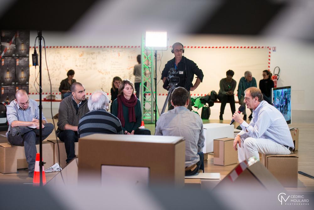 Les médias citoyens à l'Idea Camp ©Cédric Moullard