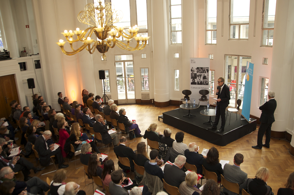 Historic Speech debate at BOZAR. Photo ©Yves Gervais