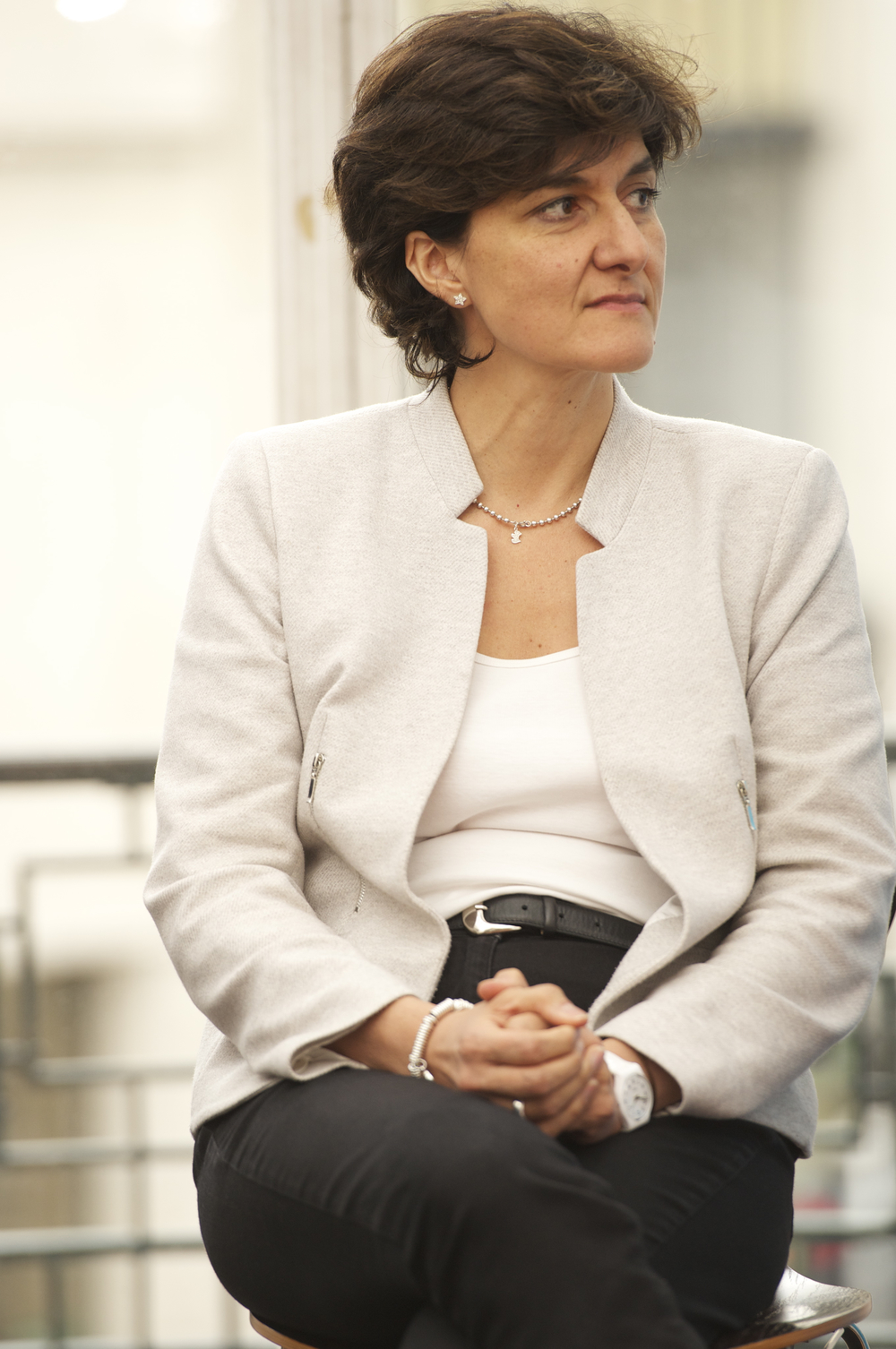 Sylvie Goulard at the Historic Speech debate at BOZAR. Photo ©Yves Gervais
