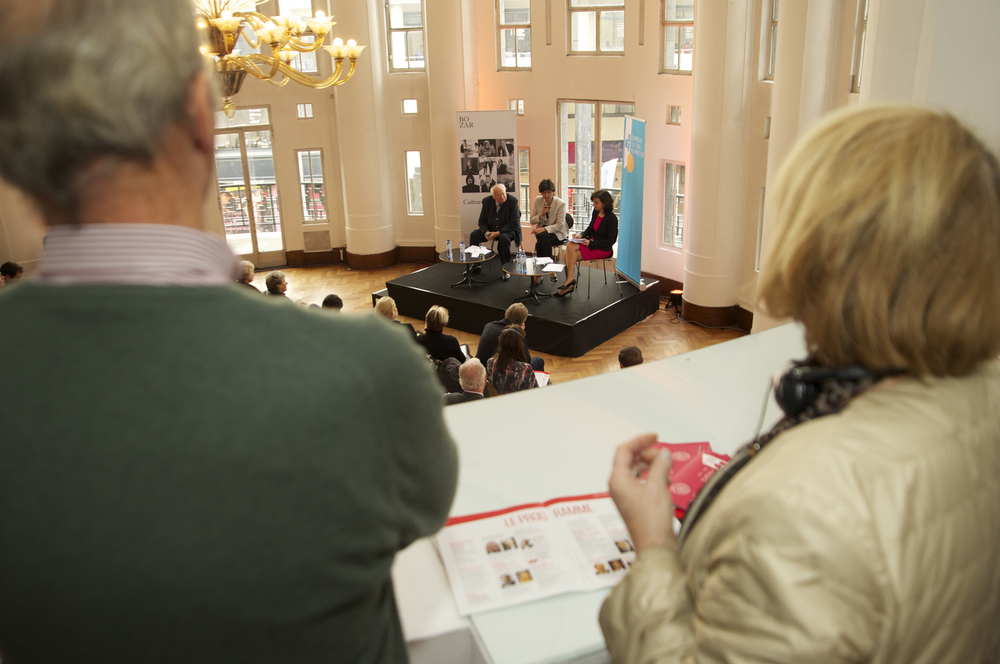 The Historic Speech to Europe debate at BOZAR. Photo by Yves Gervais.