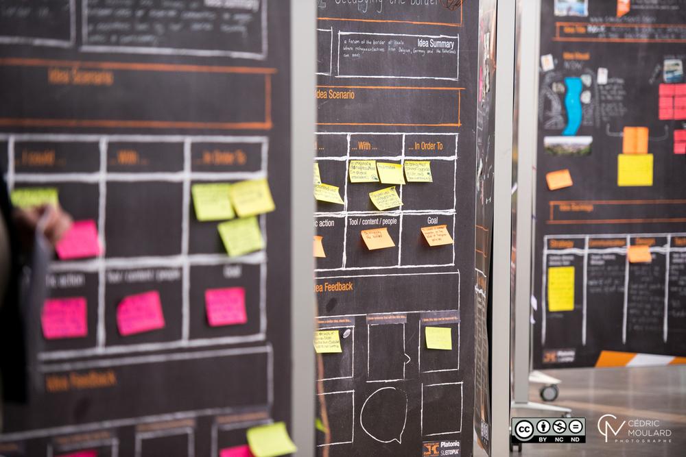 Idea Camp 2014. Photo by Cedric Moulard