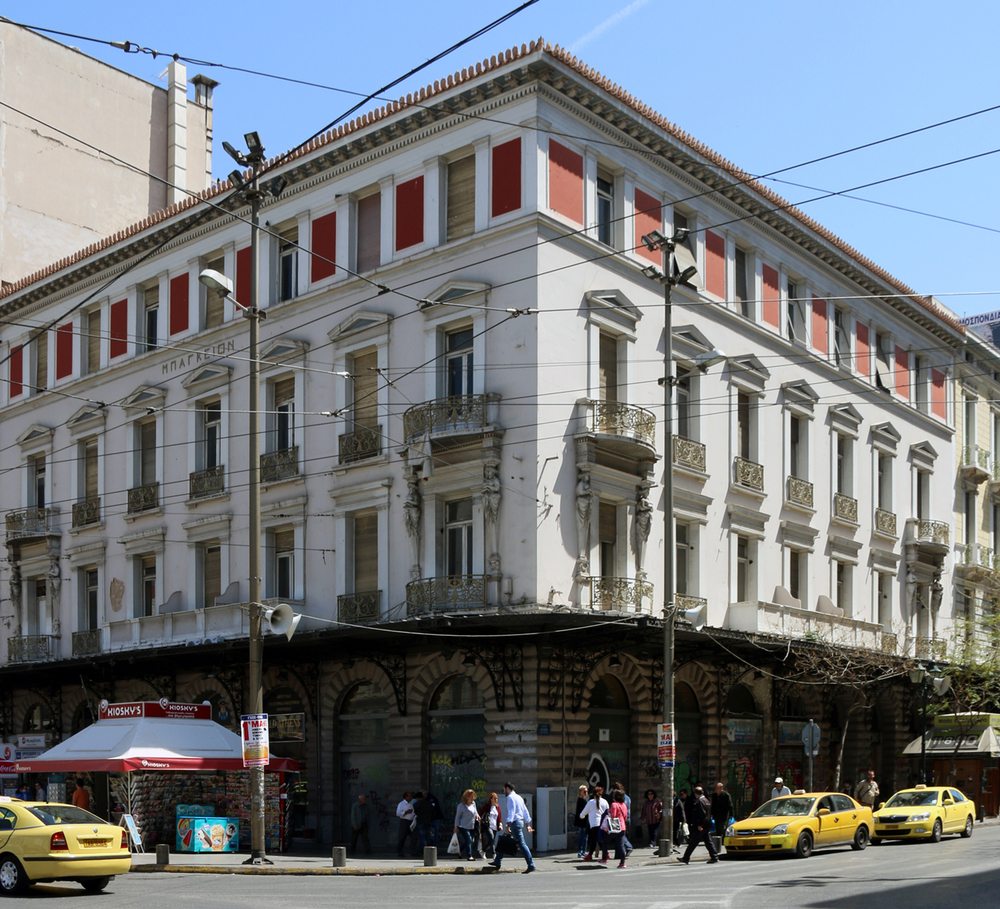 Bageion Hotel, Omonoia Square, Athens. Photo © Marilena Batali