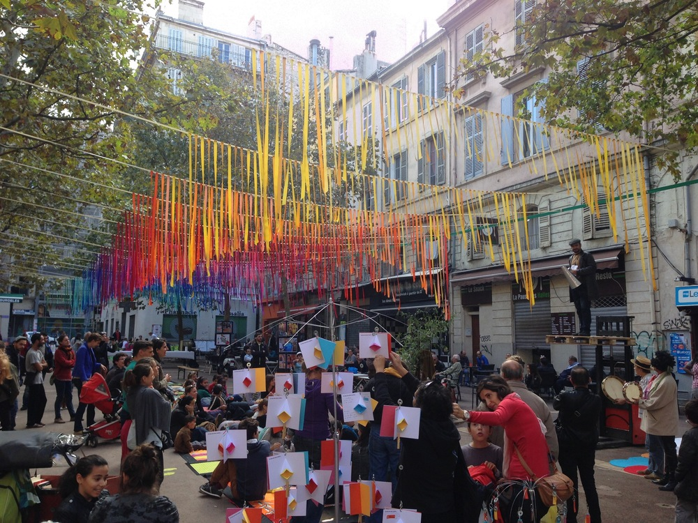 Place à l'art, 2014 edition. Photo by Canan Marasligil.
