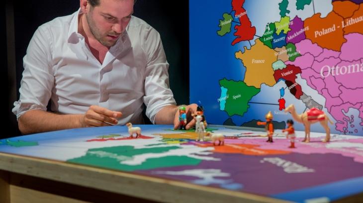 """Lucas De Man in """"In Search of Europe"""""""