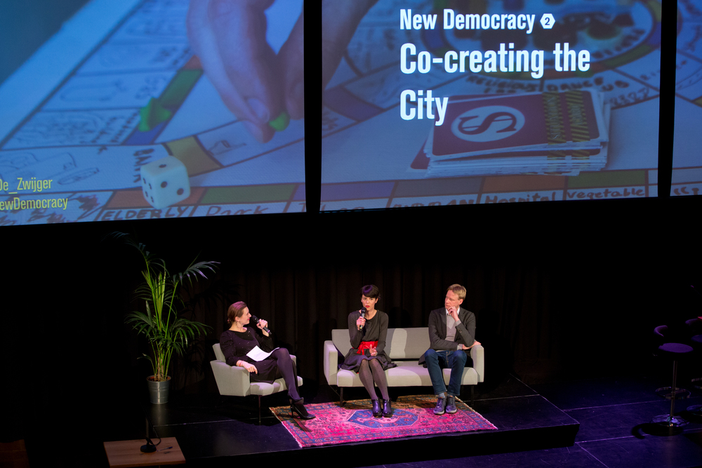 New Democracy: Co-creating the City. Photo by Maarten van Haaff