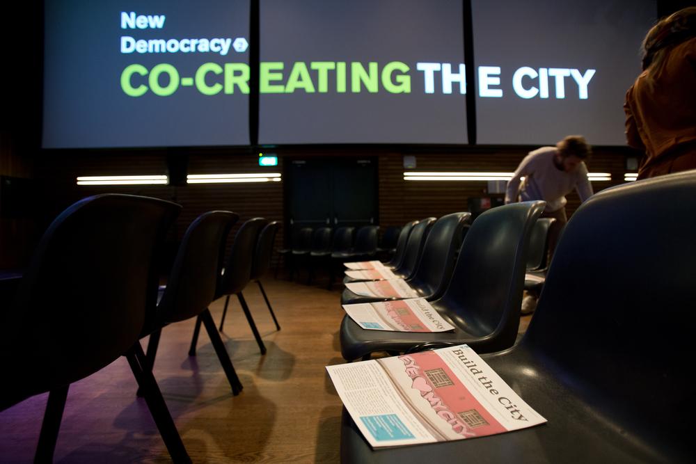The Build the City Manifesto. Photo by Maarten van Haaff.