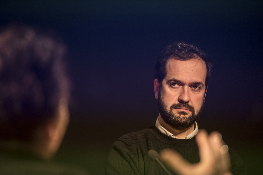 Marcos Garcia, Director Medialab-Prado. Photo by Joris van Gennip