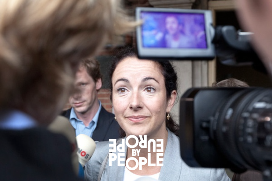 Femke Halsema. Photo via De Correspondent.