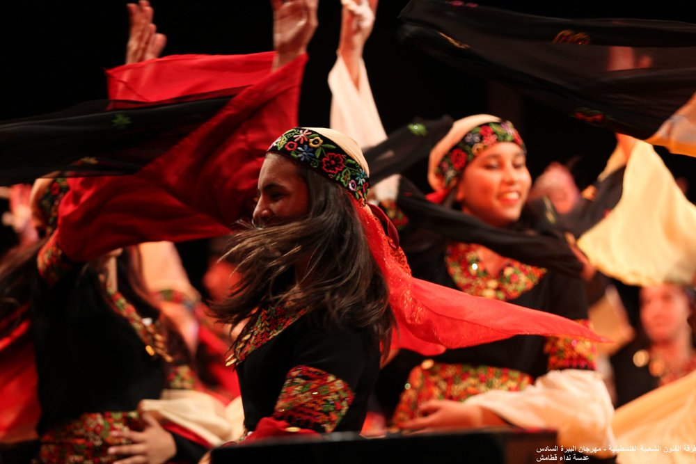 El-Funoun troupe in Al Bireh Festival 2016 © Nidaa Katamesh