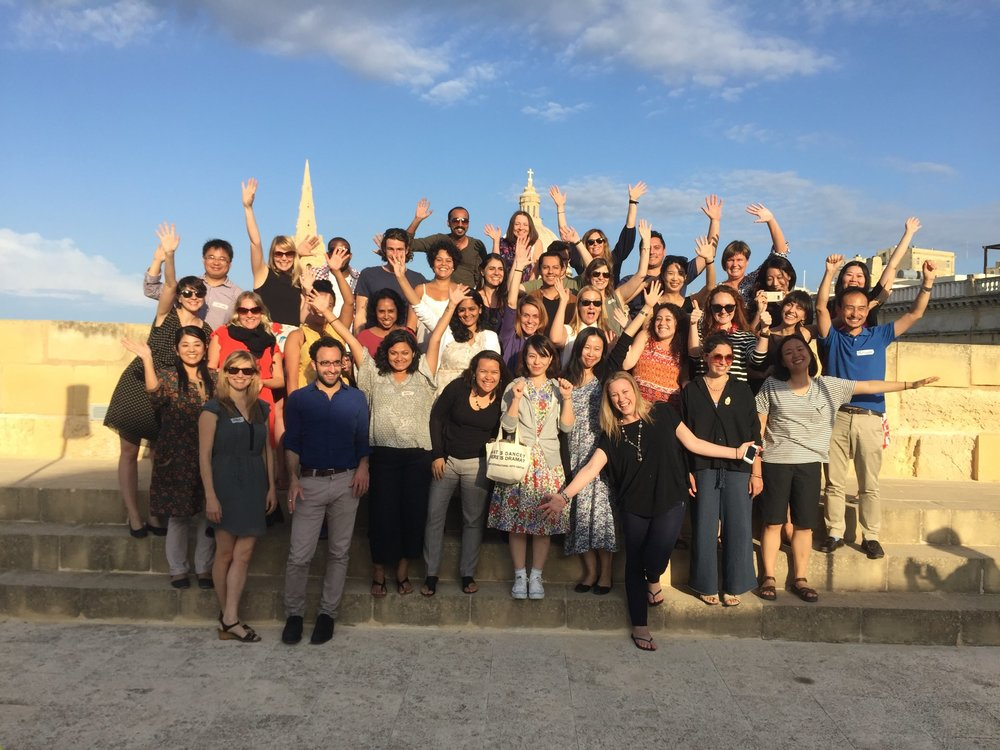 The participants to the Global Cultural Leadership Programme launched in Malta in 2016