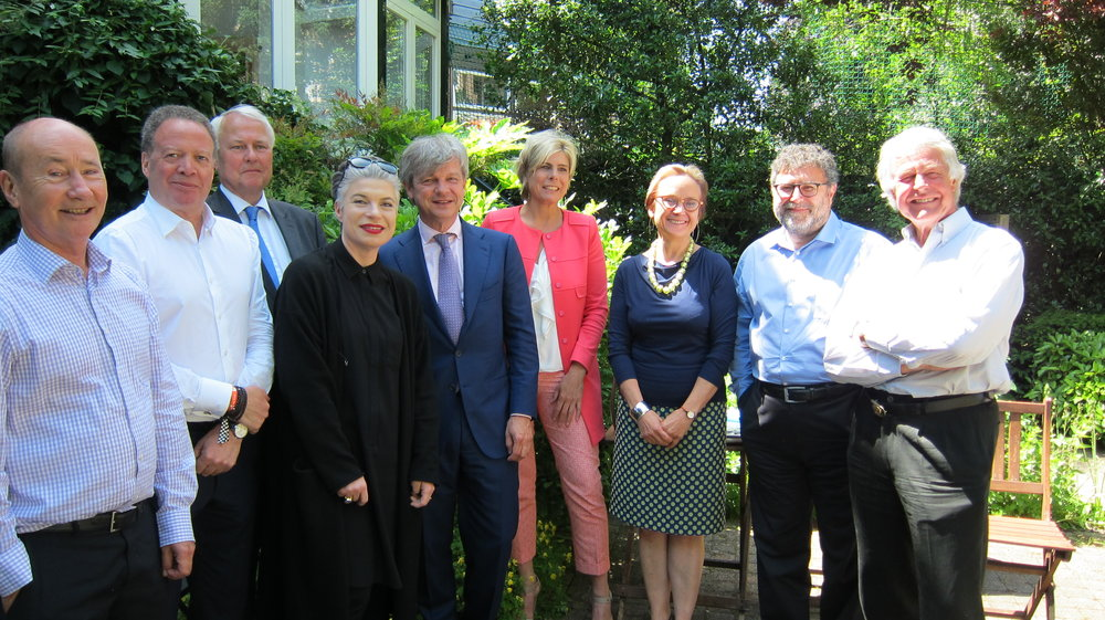 ECF Board Members in 2016. Photo by Nicola Mullenger