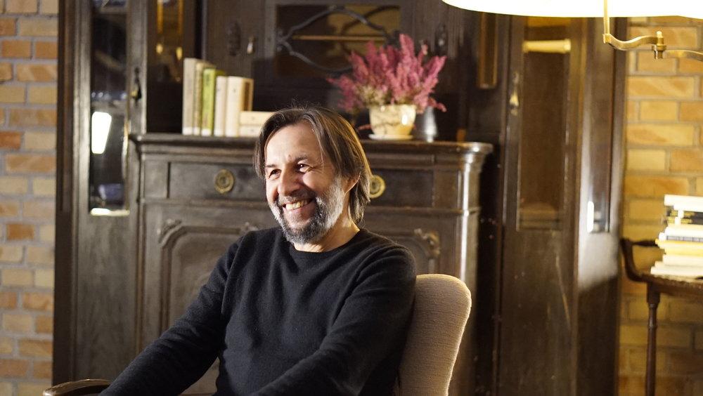 Krzysztof Czyzewski during the interview in March 2018.Photo by Jarosław Wszędybył