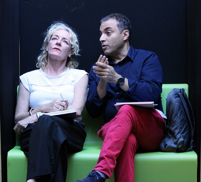 Vivian Paulissen and Sam Khebizi. Photo by Dogan Boztas.
