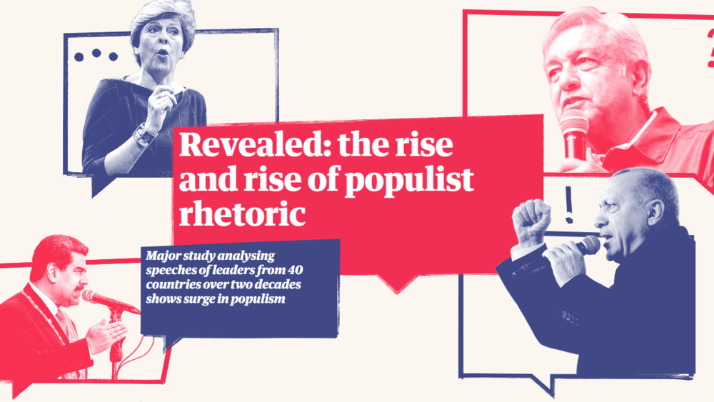 Long Read: The New Populism - Populism is as old as democracy itself. The Guardian investigates the new rise of populism on the global stage in this sixth month series leading up to the 2019 EP Elections.