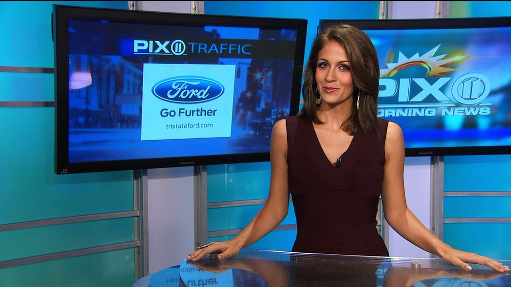 Kaitlin Monte PIX11 Morning News Traffic 2014