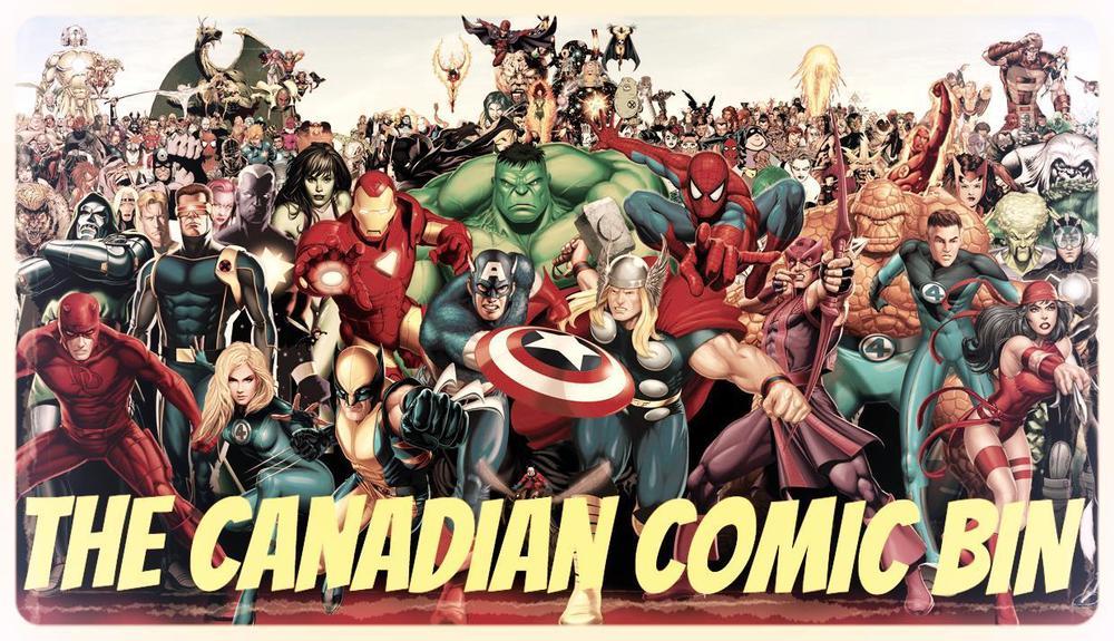 the canadian comic bin