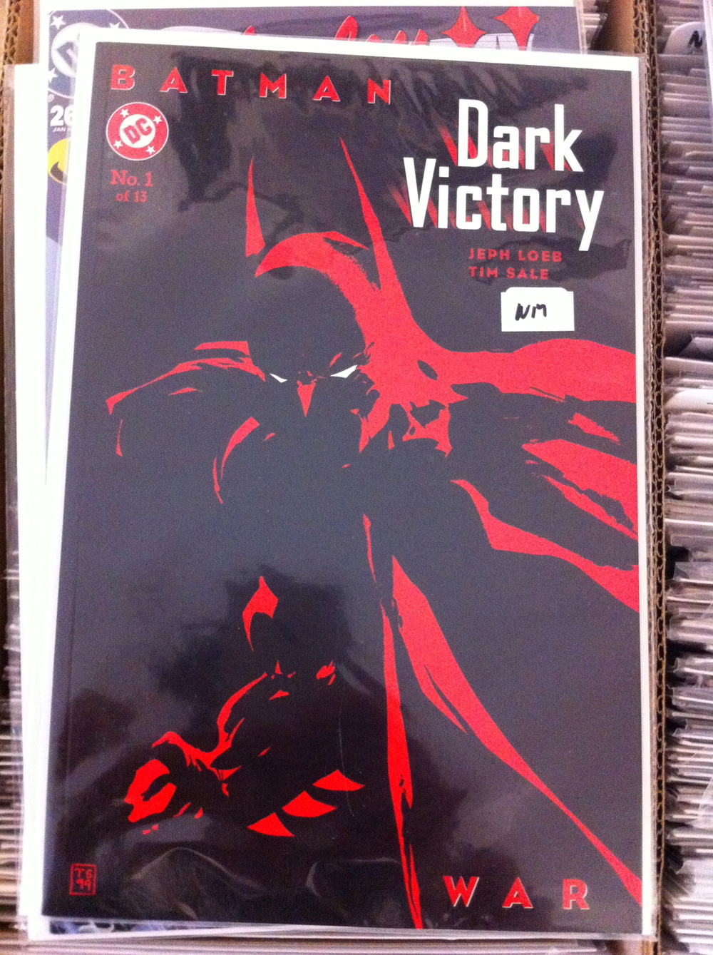 BATMAN DARK VICTORY #1-13 Jeph Loeb and Tim Sale's Sequel to The Long Halloween! One of the best Jeph Loeb Stories right here!