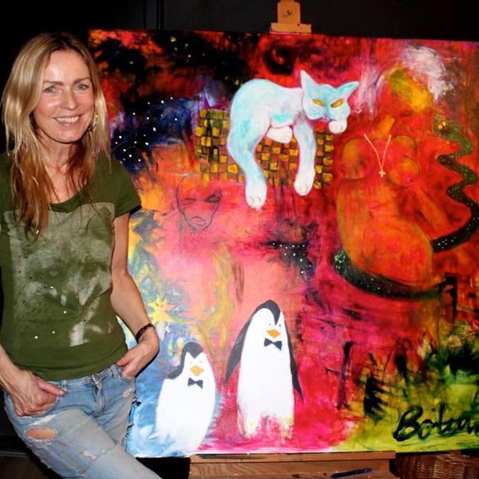 """Jeannie Bolund at """"Den Lyserøde Busfest"""""""
