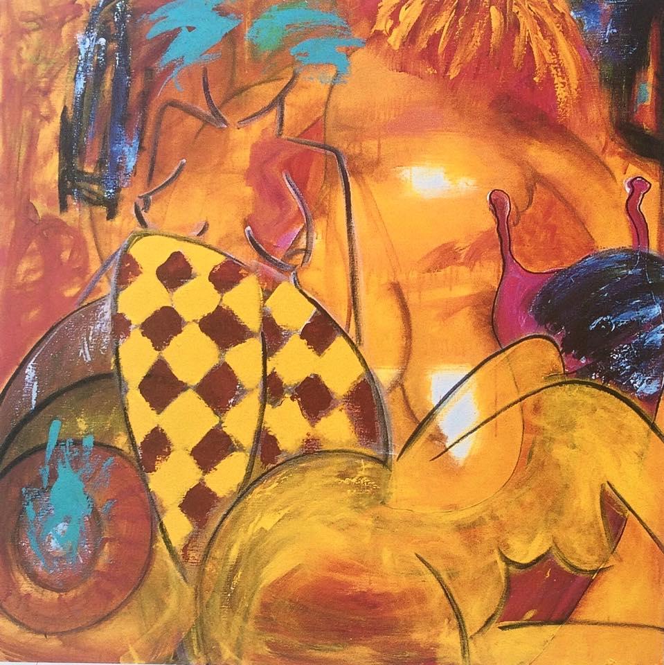 """""""Tingfinderdag"""" poster/kunsttryk signed & nr."""