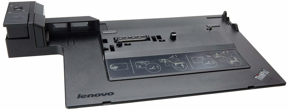 Lenovo ThinkPad Mini Dock Series 3. A very common docking station compatible with many ThinkPad laptops.