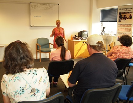 Diploma course - 2nd year students seen here, studying Psychotherapy
