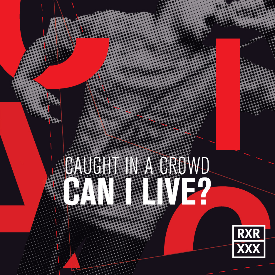 Caught in a Crowd -   Can I Live?     React! Records
