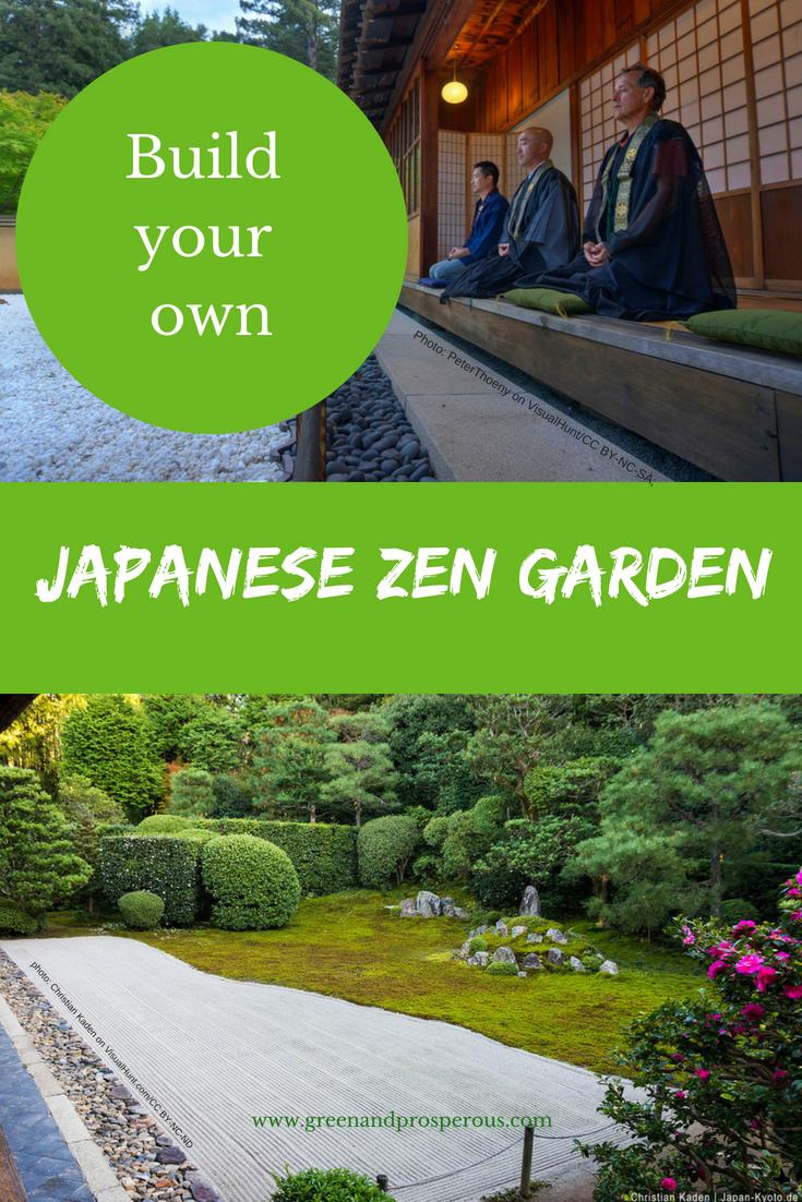Build a Japanese Zen Garden