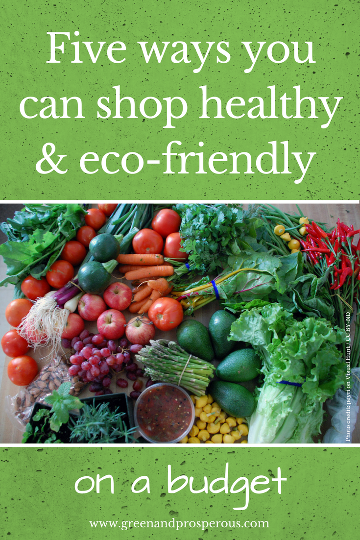 shop healthy on a budget