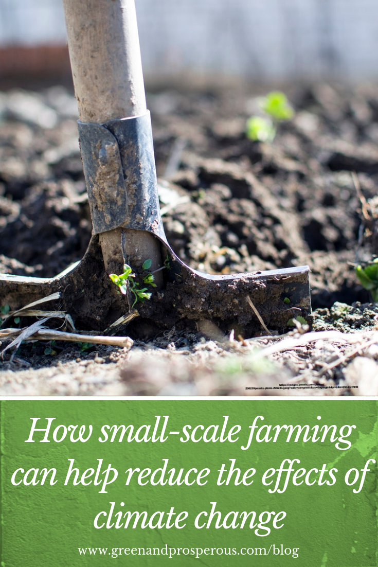 how small-scale farming can help reduce climate change