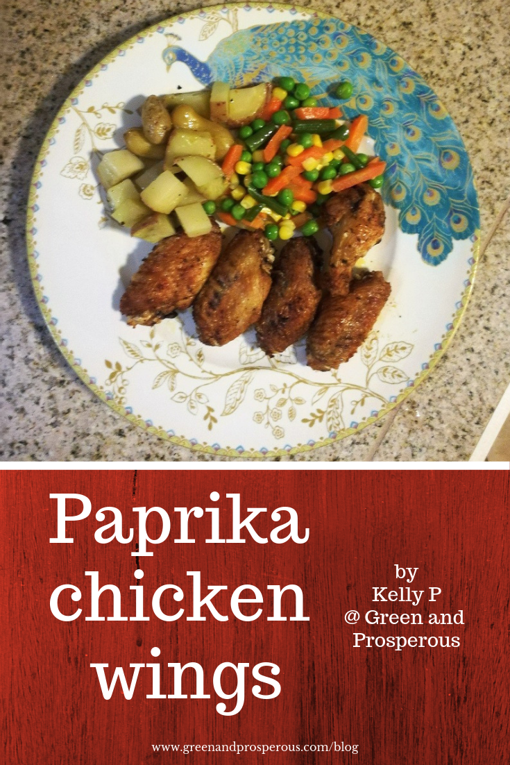 paprika chicken wings