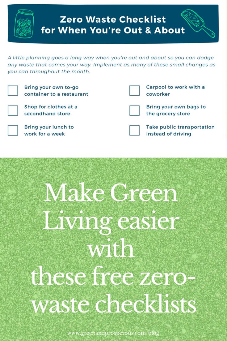 zero-waste checklist