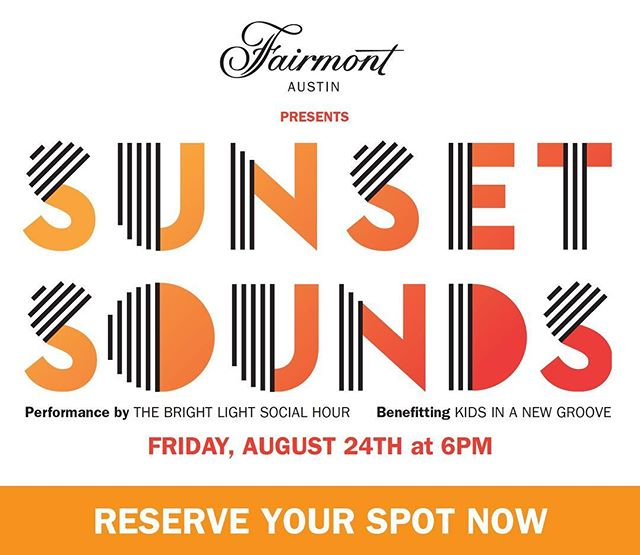 Tenderling is happy to be part of this incredible fundraising event for @kidsinanewgroove presented by @fairmontatx Check out www.sunsetsounds.splashthat.com . . . . . . . . . . #tenderling #tenderlingdesign #austin #atxdesign #marketing #kids #kidsaustin #forkids #sunsetsounds #branding #eventbranding #charityevents #atxmusic #atxfun #music #austinvibes #austinmusic #donate #typography #logo #austindesign #graphicdesign #marketing #atxfun #fairmont