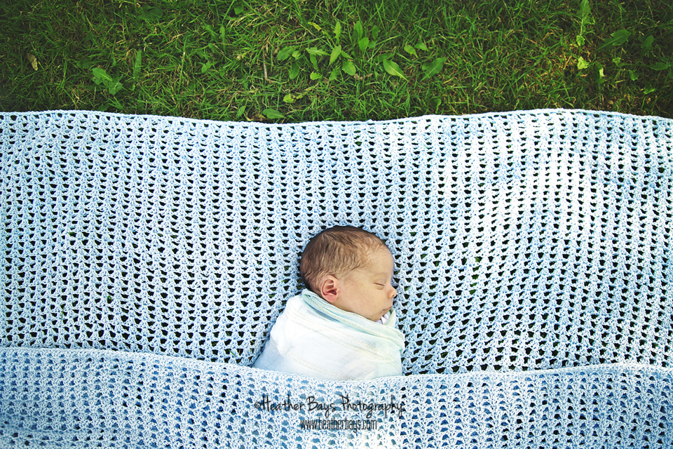 September 24th  Three Week Old Attis {newborn portrait session}