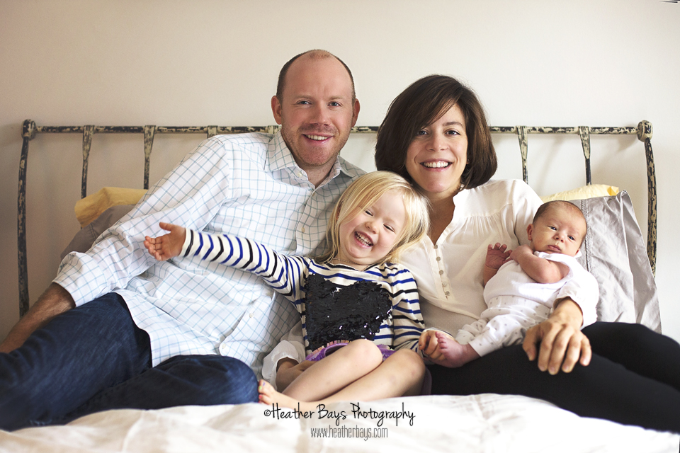 March 22nd  Alma & Wilder  {in-home newborn portrait session}