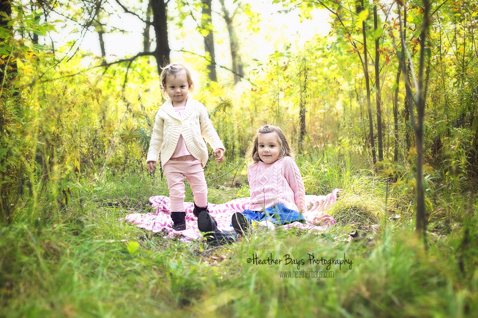 April 13th  Grace & Katie  {fall mini session}