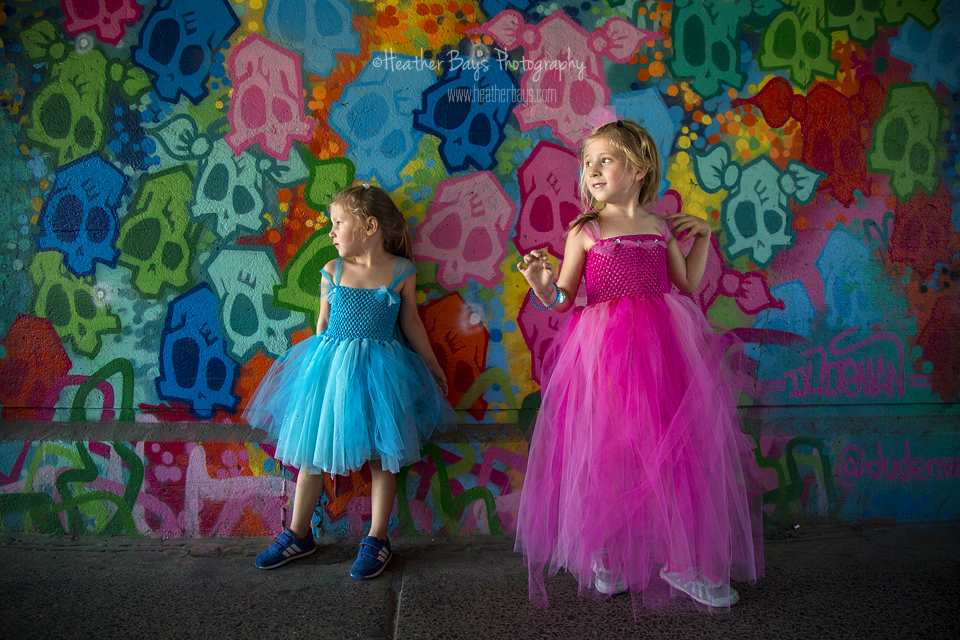 September 1st  Princesses in the City {lifestyle portrait session}