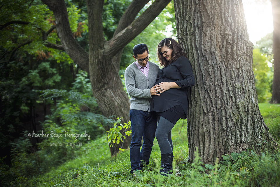 October 6th  H illary & Andrew   {mini maternity session}