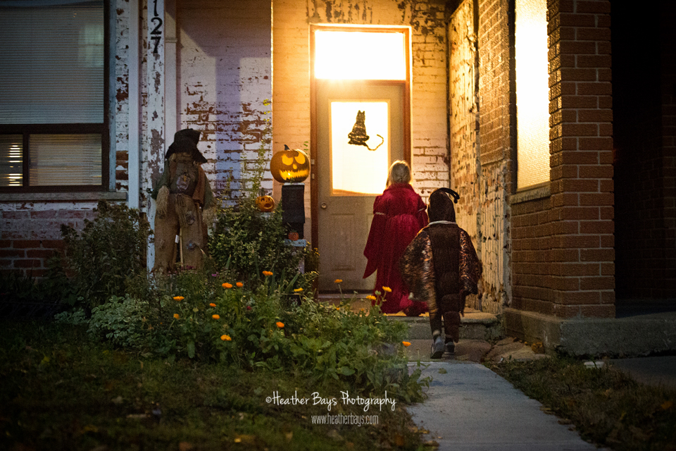 November 1st  Adventures of Queen Adelaide & Moth (trick or treating event session}