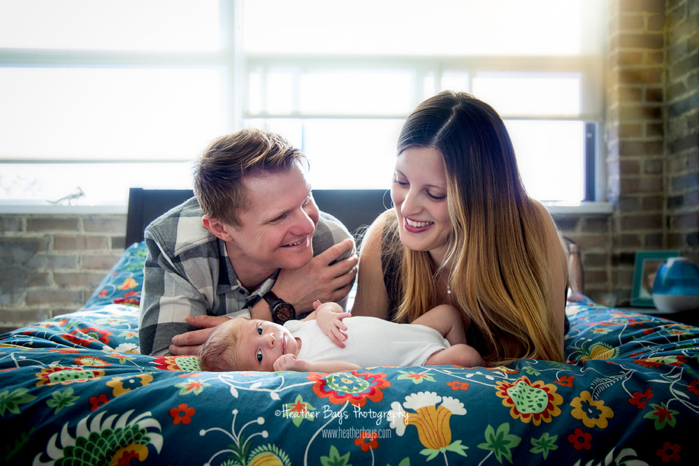 January 22nd  Jasper, 12 Days Old {in-home newborn portrait session}