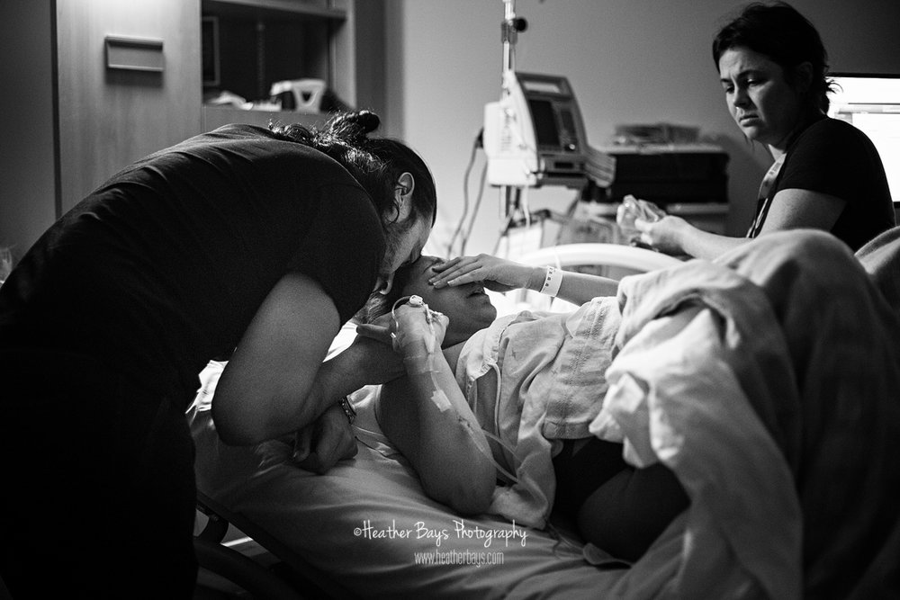 emotional birth documentary midsives support c-section