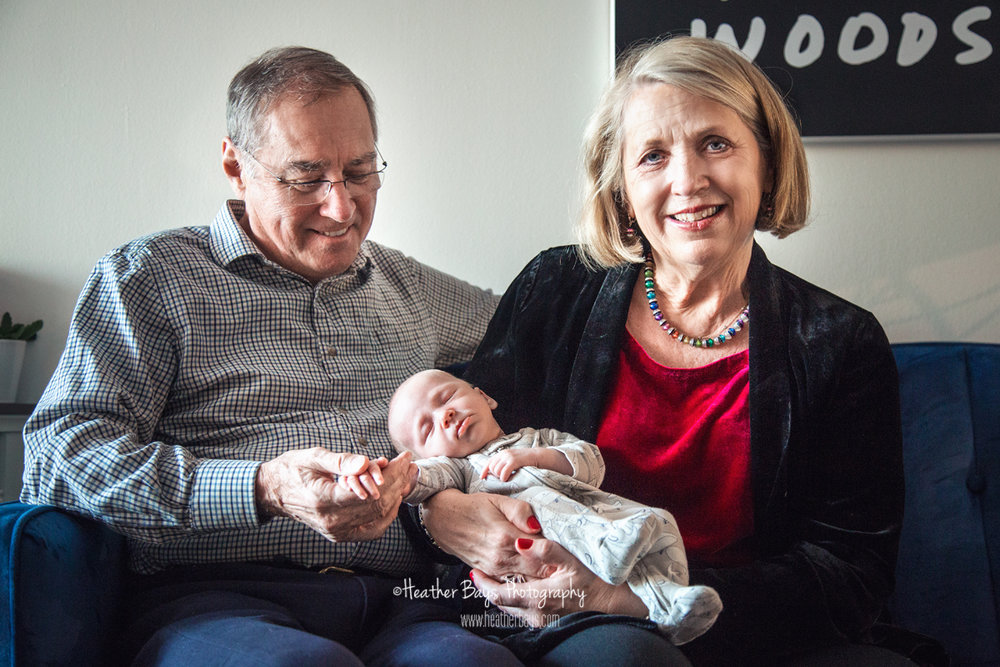 proud grandparents