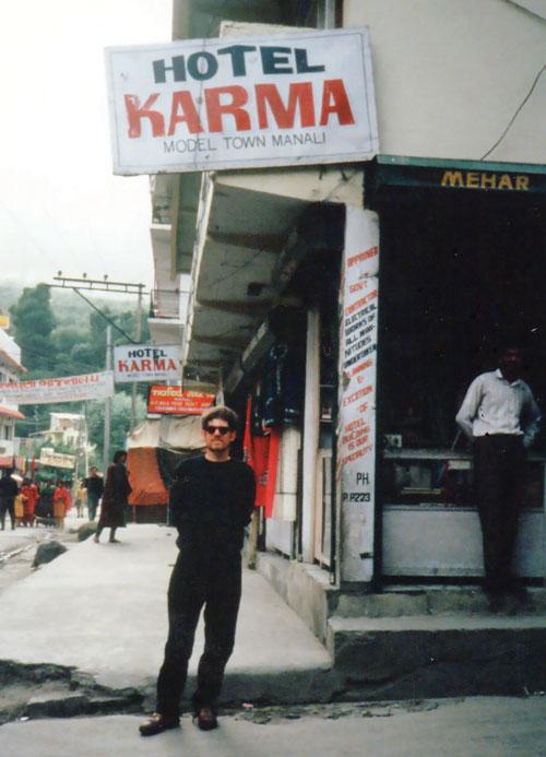Hotel Karma; Manali, India 1994