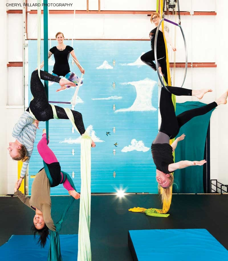 On Flying: How Contemporary Circus Arts Teach Adults to Play