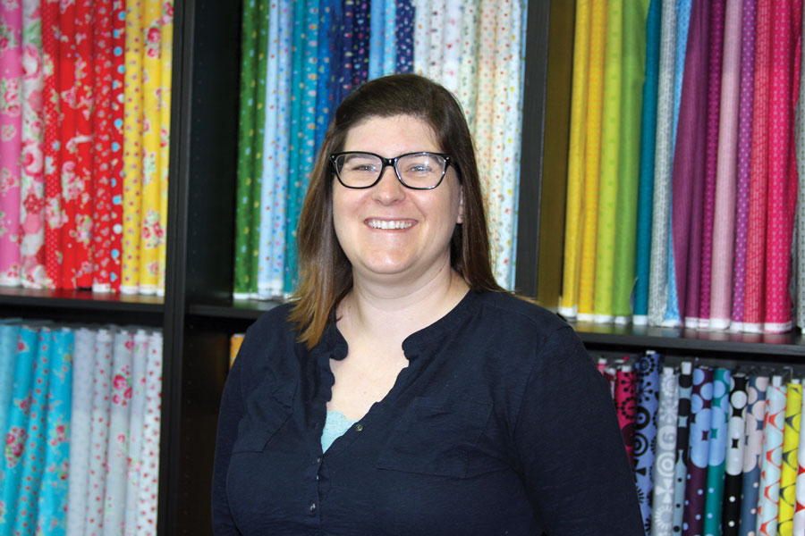 Brenda Ratliff, Co-Owner Pink Castle Fabrics