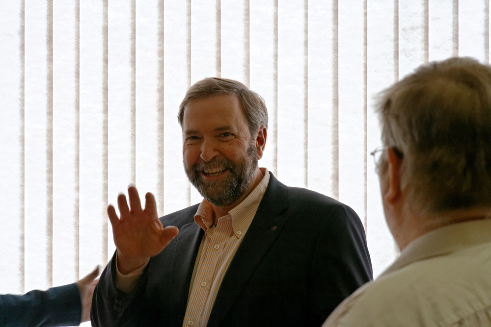 Tom Mulcair, Leader Federal NDP