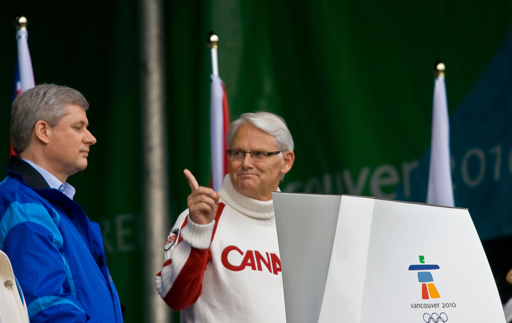 Prime Minister Harper and Premier Campbell