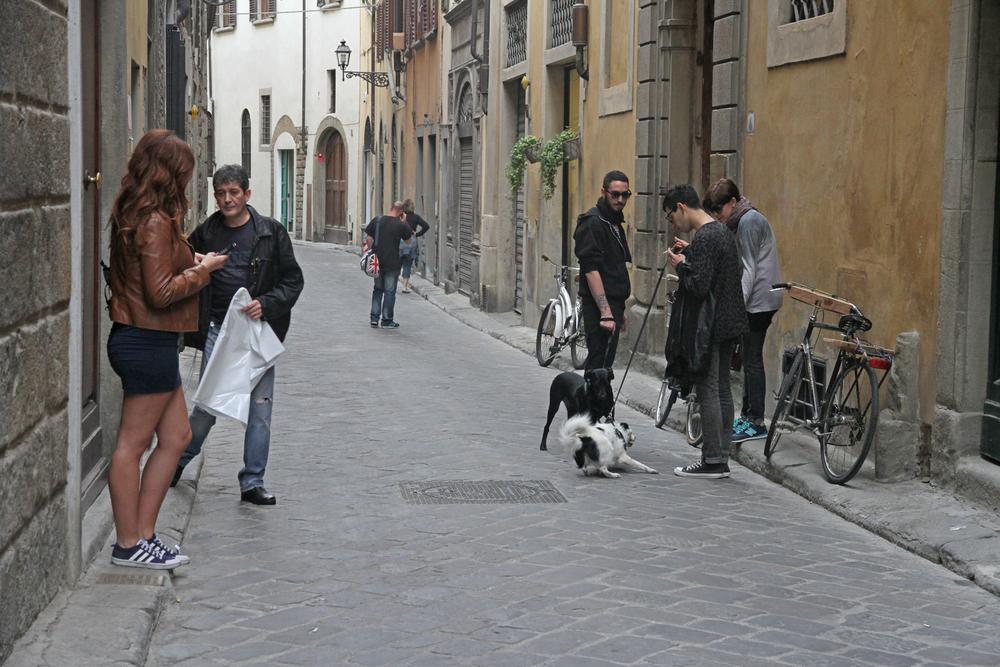 Street Scene Florence