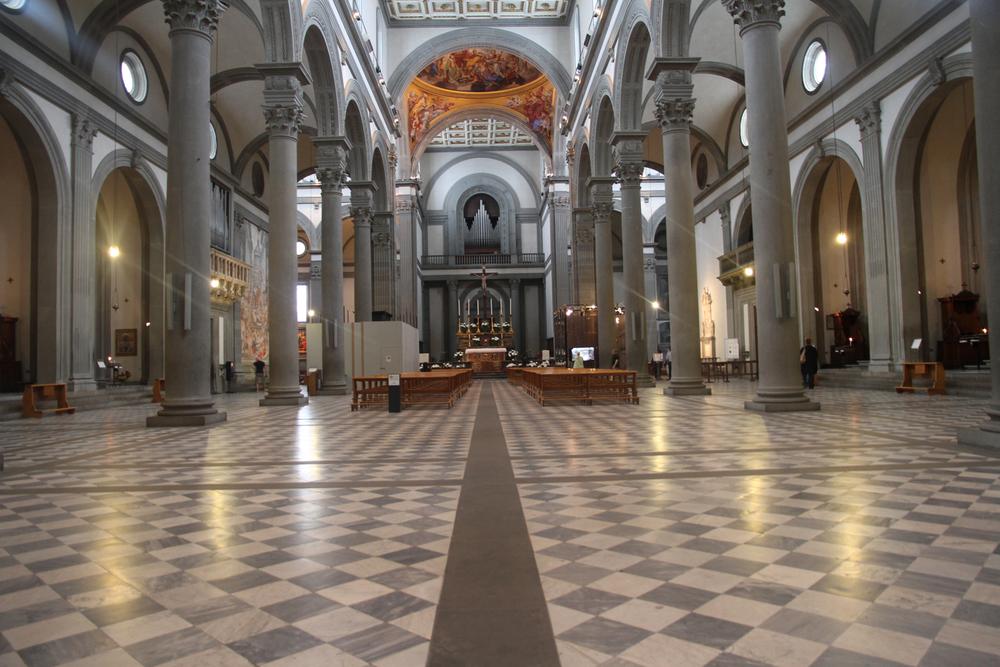 San Lorenzo, ( Brunelleschi)