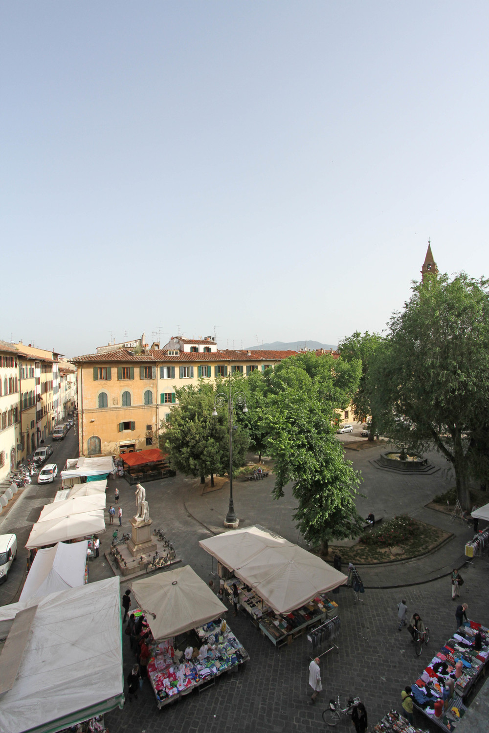View from 9, Piazza San Spirito, Florence